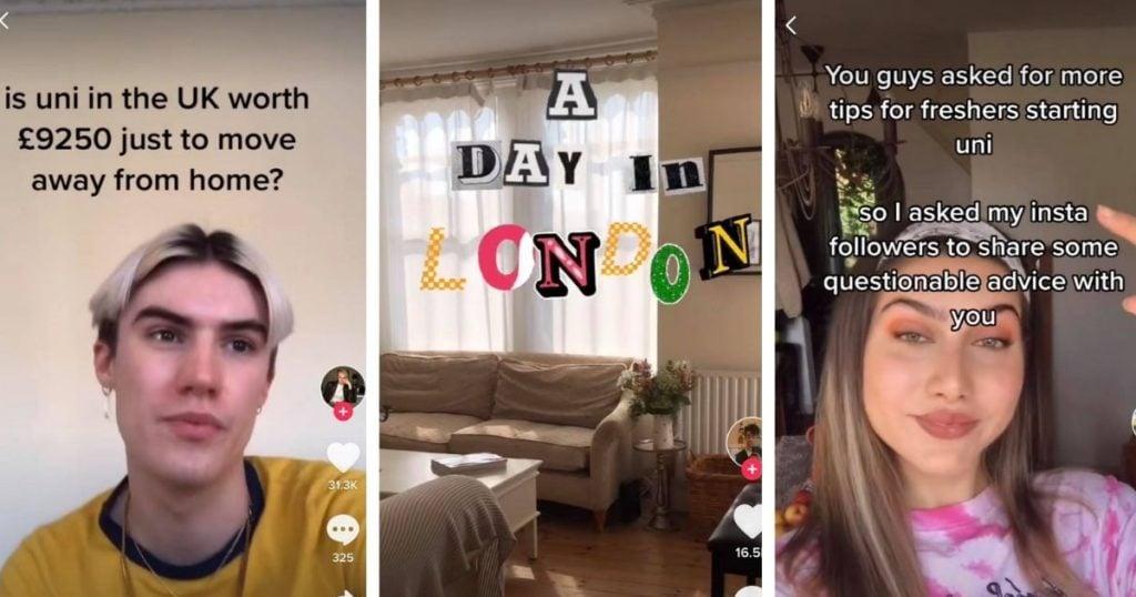 London Uni Tiktokkers