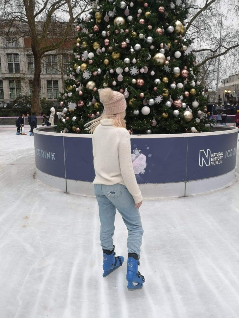 London Christmas Ice Skating
