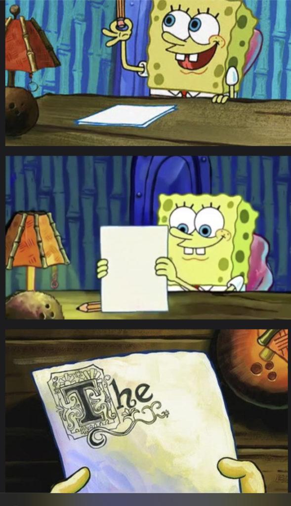 Monk Student procrastination meme