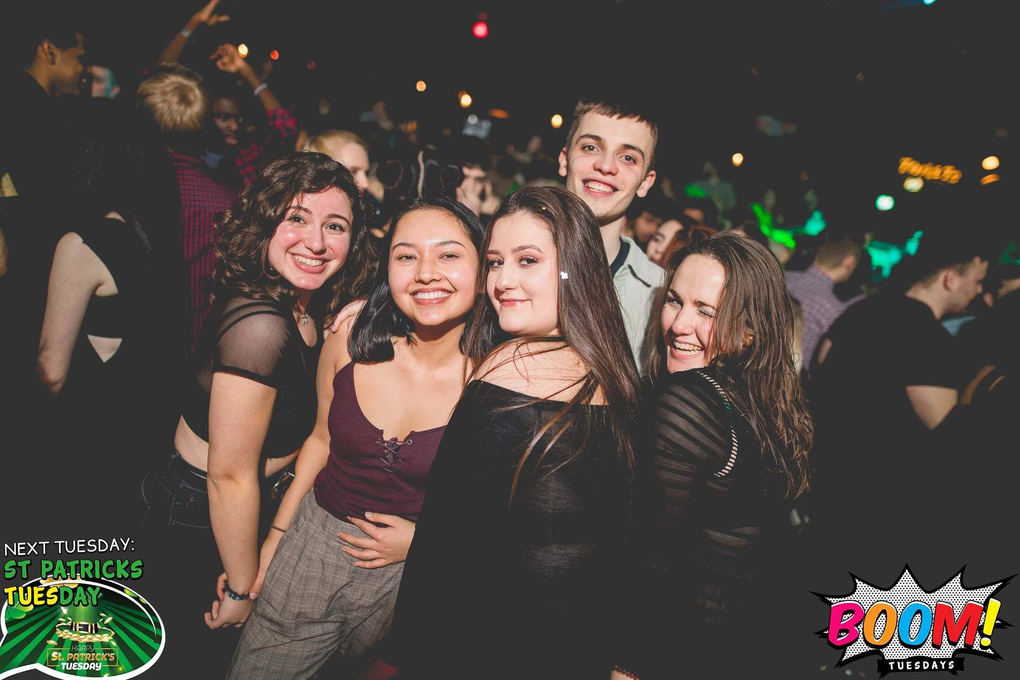 Image may contain: Crowd, Night Life, Night Club, Club, Paper, Flyer, Brochure, Music, Leisure Activities, Poster, Person, People, Human