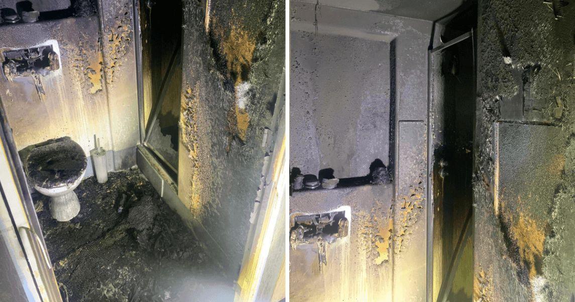 Image may contain: Door, Indoors, Room