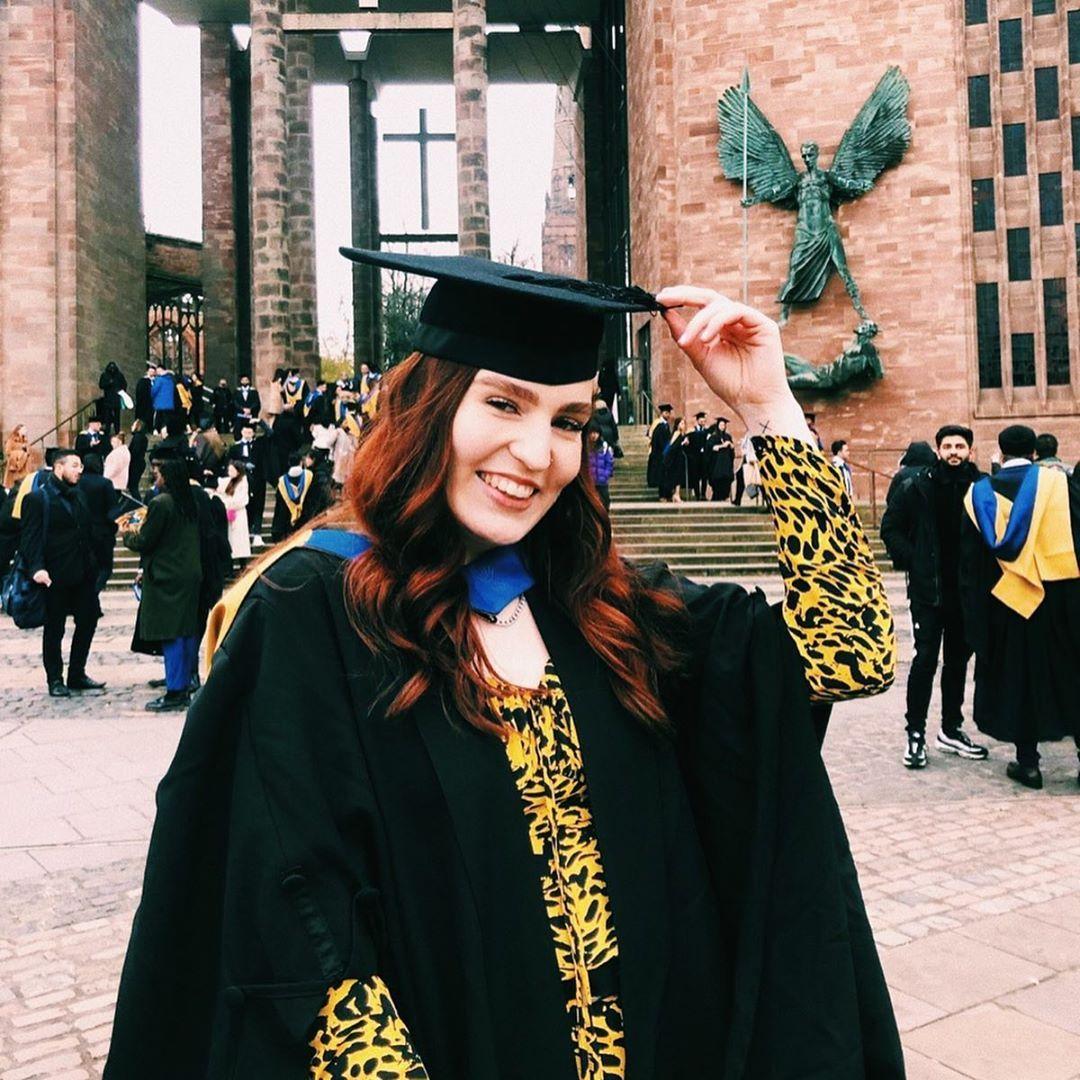 Image may contain: Graduation, Person, Human, Clothing, Apparel