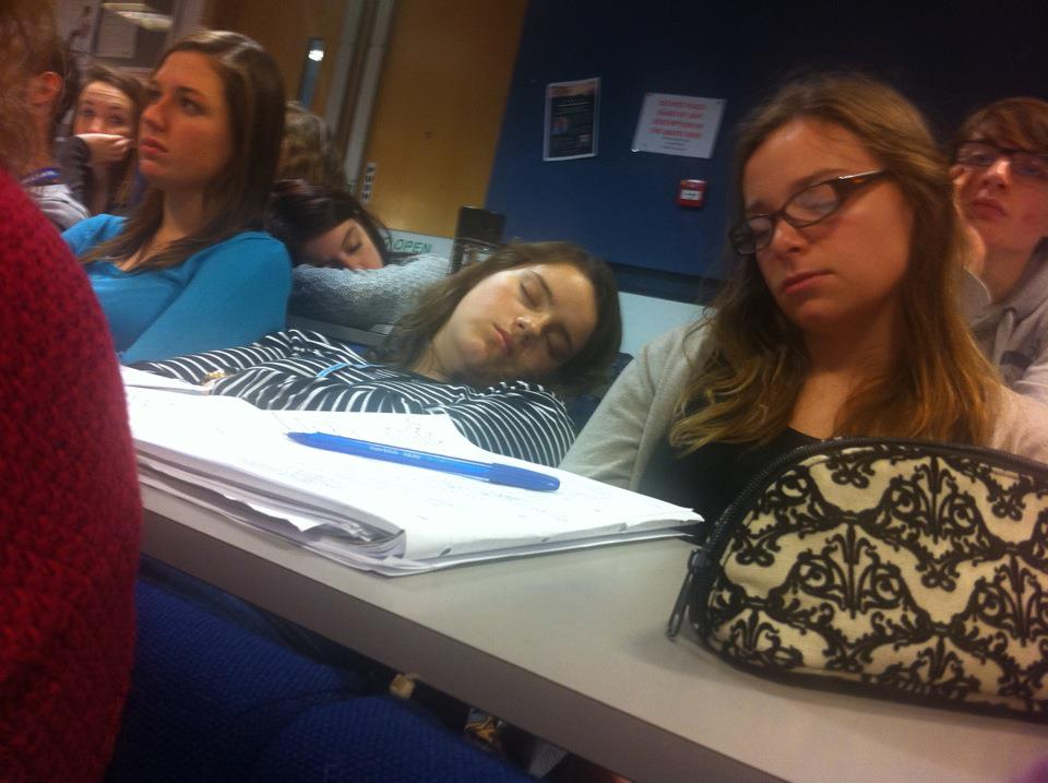 Sleeping lectures 7