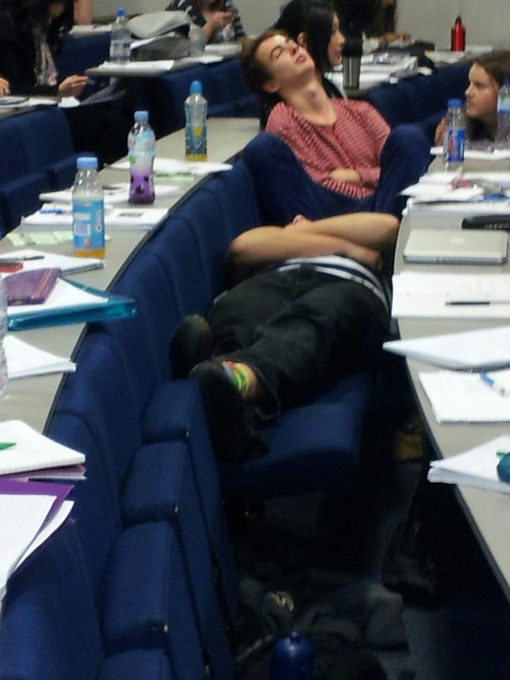 Sleeping lectures 8