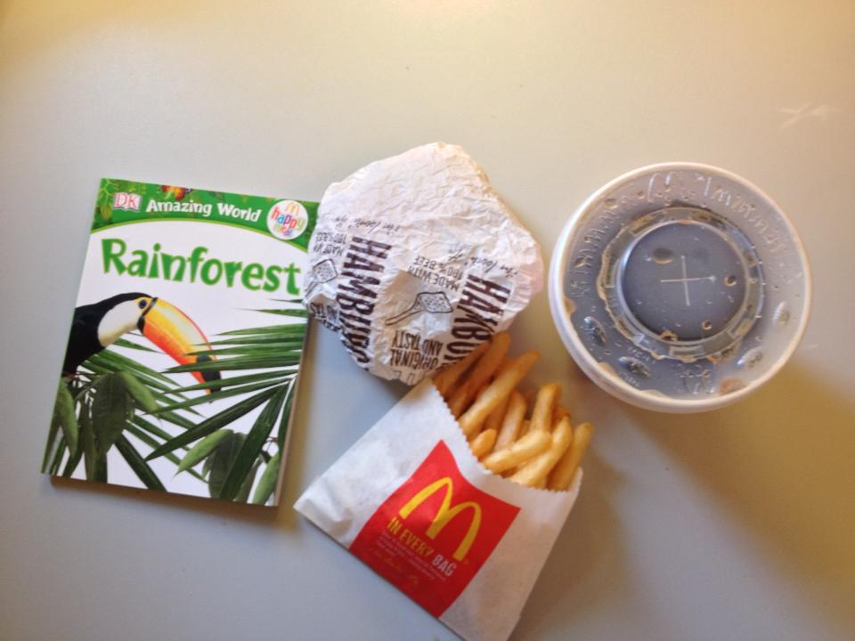 The EXCITING Tab Happy Meal...