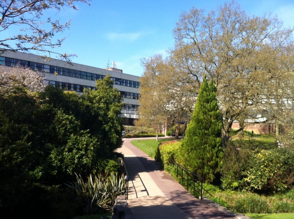 Highfield Campus, destination of our hungover crawls