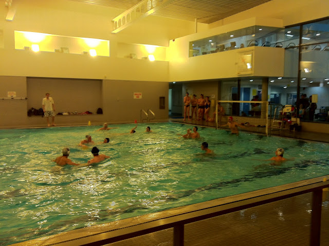 Out of practice water polo lose to exeter for Southampton university swimming pool