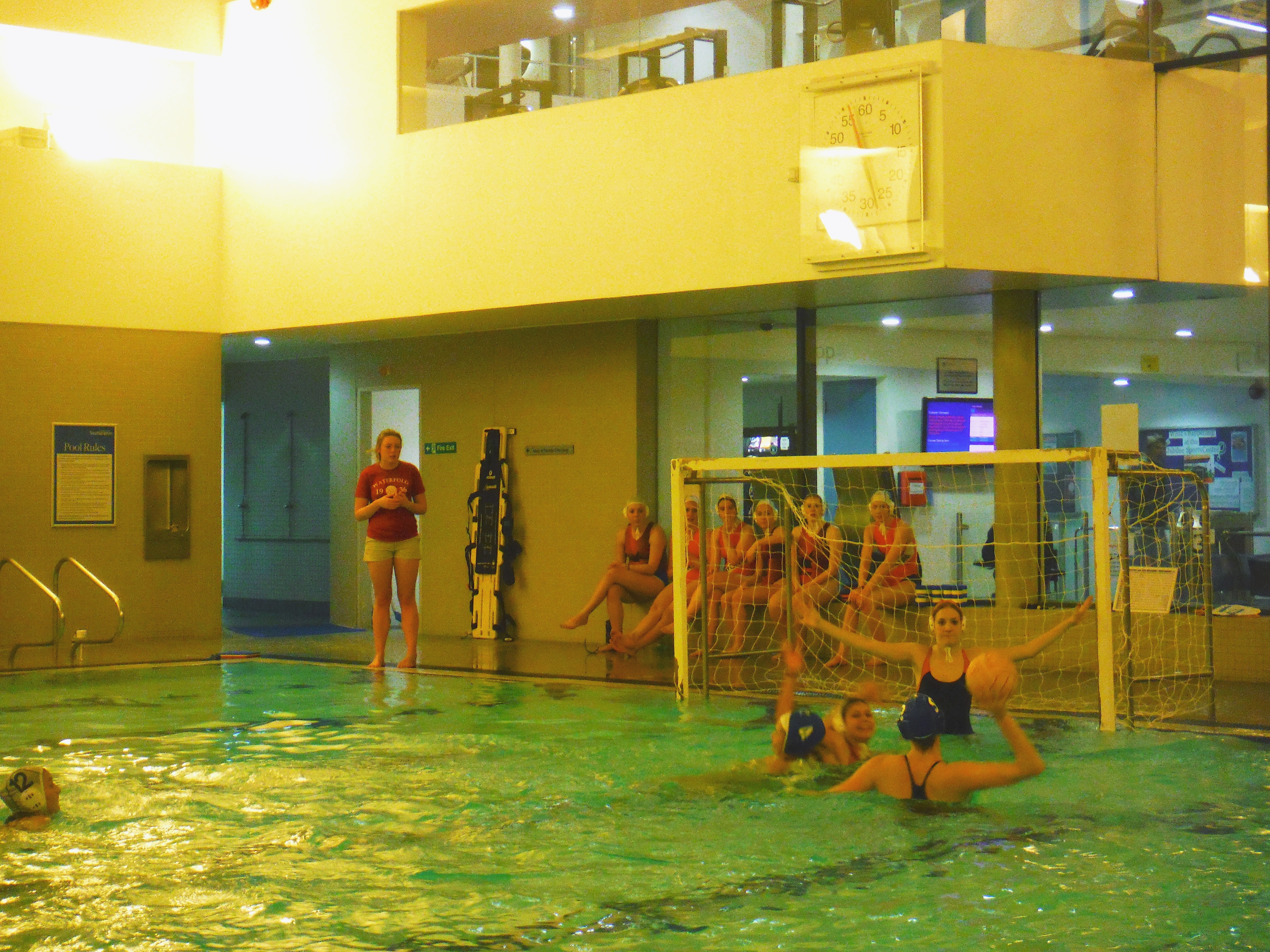 Ladies water polo 2nds vs uwe match report for Southampton university swimming pool
