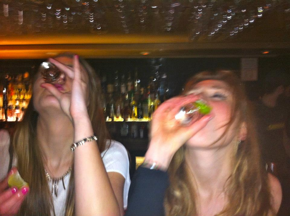 Drunk students