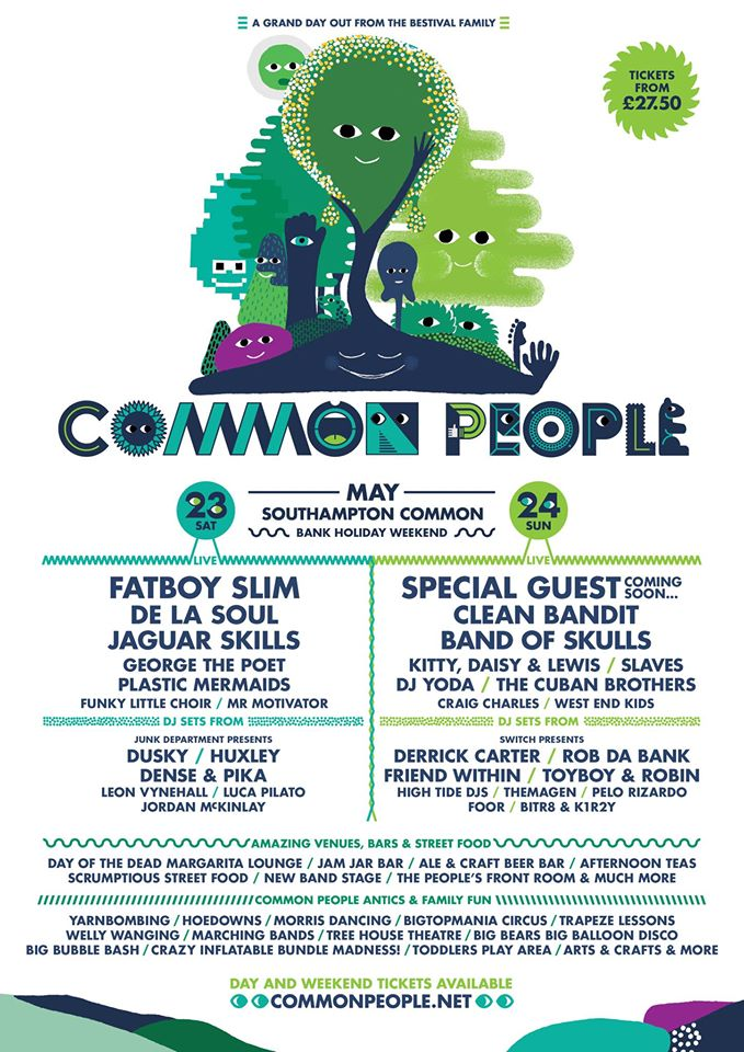 Common People line up