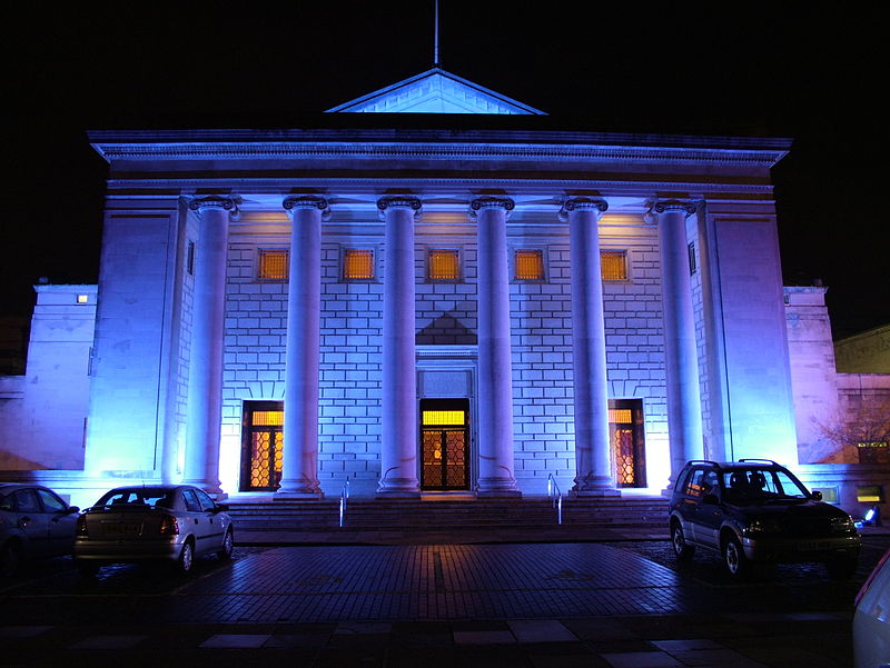 Southampton's O2 Guildhall looking dramatic