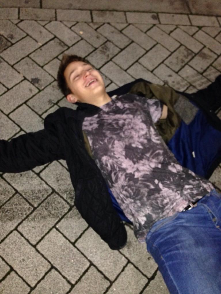 Drunk student