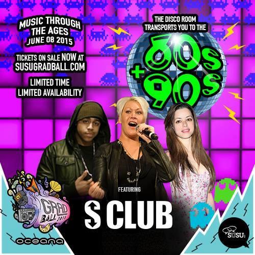 S Club Grad Ball