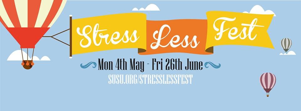 Never Fear, The Stress Less Fest Is Back