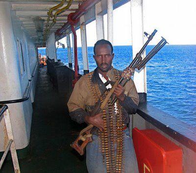 One of many friendly Somalian seafarers