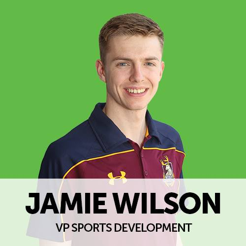 Main Man: Jamie Wilson plays a leading role in organising this years Varsity