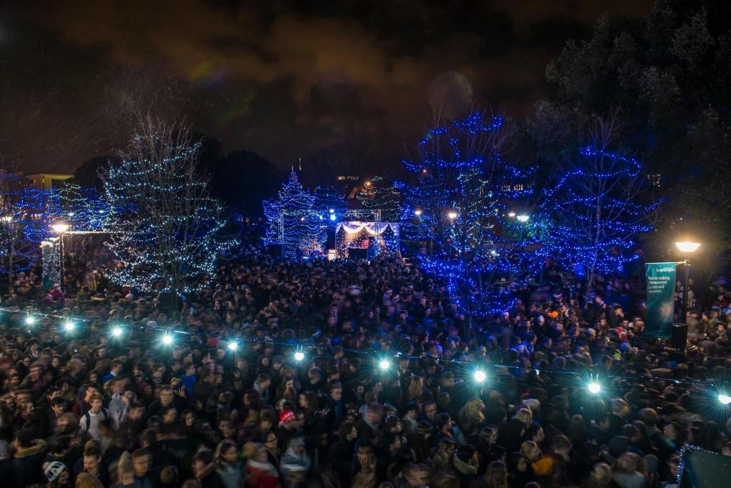 The illuminations last year