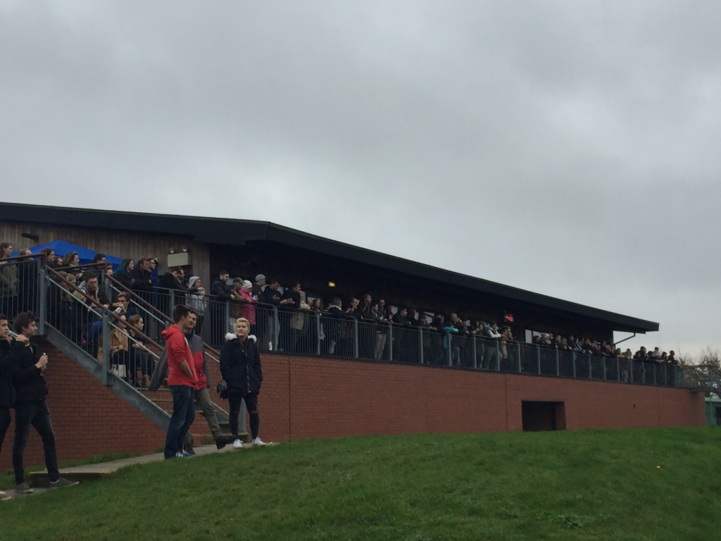 Home Support: 200+ Southampton students turned out to cheer on the Stags
