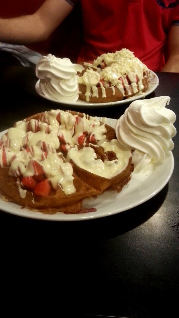 Just Desserts: Sprinkles wide range of sundaes, waffles and ice cream has made it a favourite amongst Southampton studnets