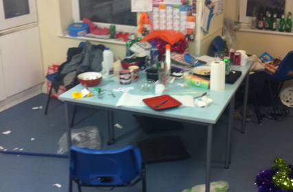 The average state of a student house