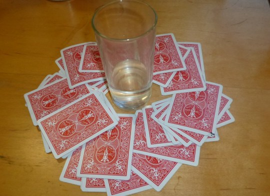 Ring Of Fire: Just one of many crappy drinking games you will play at pre-drinks