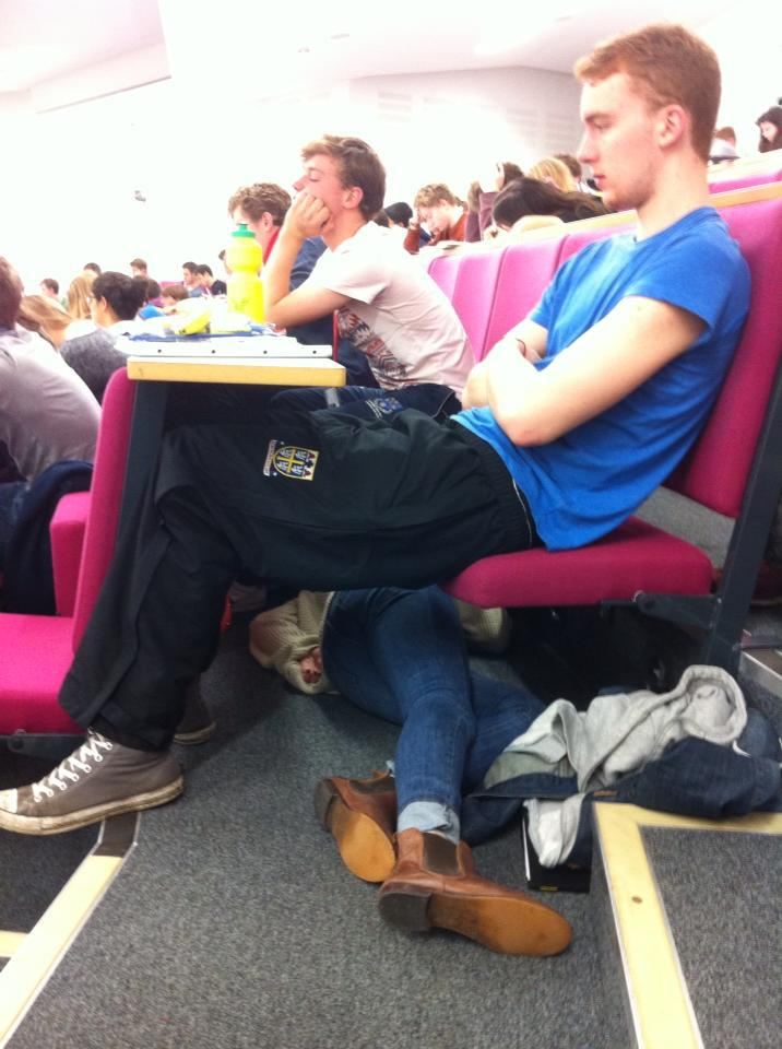 When your lecturer asks a question