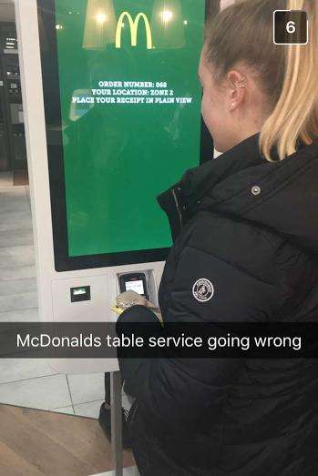 mcdonalds swaythling no receipt