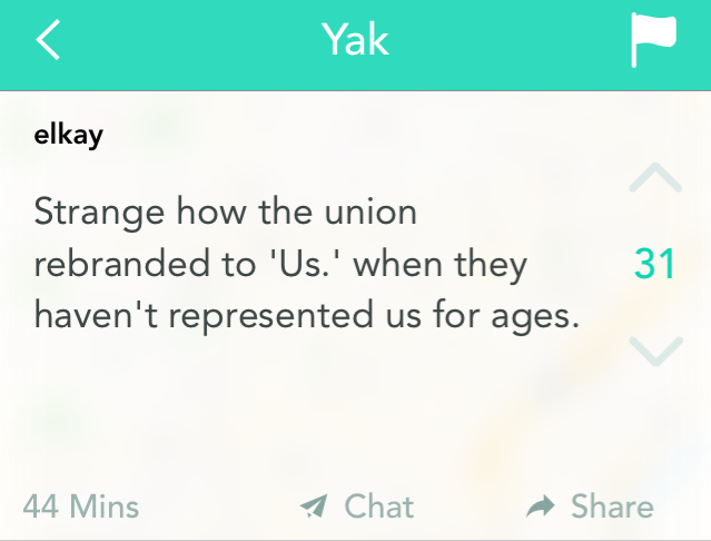 Students are furious about being under represented