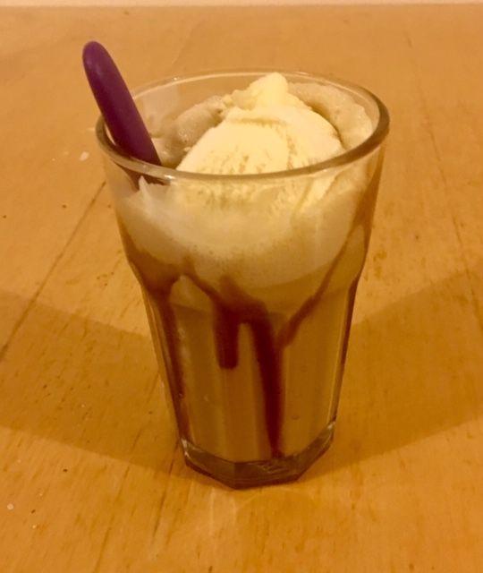 Image may contain: Ice Cream, Drink, Beverage, Cream, Food, Dessert, Creme