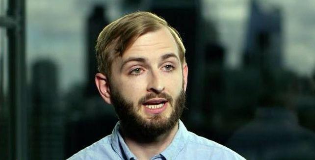 Image may contain: Beard, Person, Face, Human