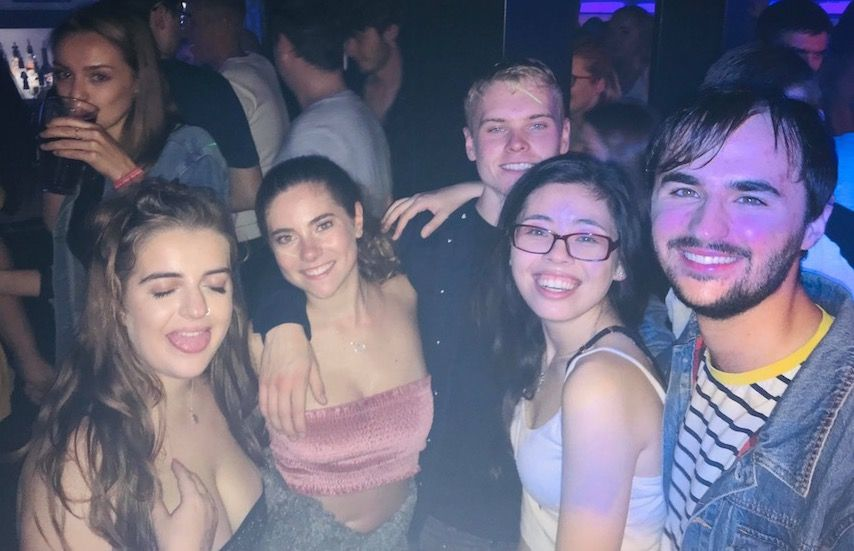Image may contain: Selfie, Female, Portrait, Photography, Photo, Head, Night Club, Night Life, Club, Face, Accessories, Accessory, Glasses, Human, Person, Party