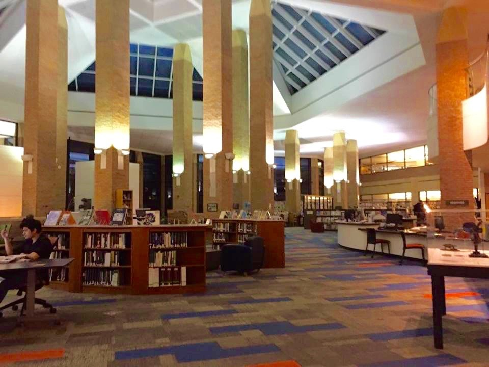 Echoed Walls With High Ceilings, The Duderstadt Is The Art, Architecture,  And Engineering Library Located On The Pierpont Stop.