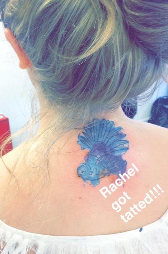 d1d2900dd Rachel on her tattoo: