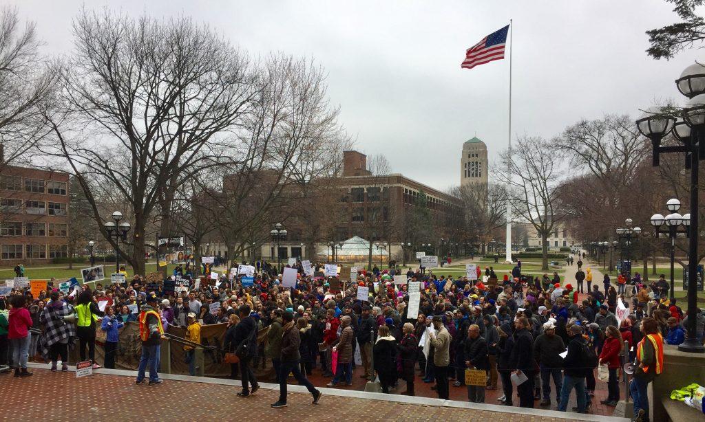 immigrants march ann arbor