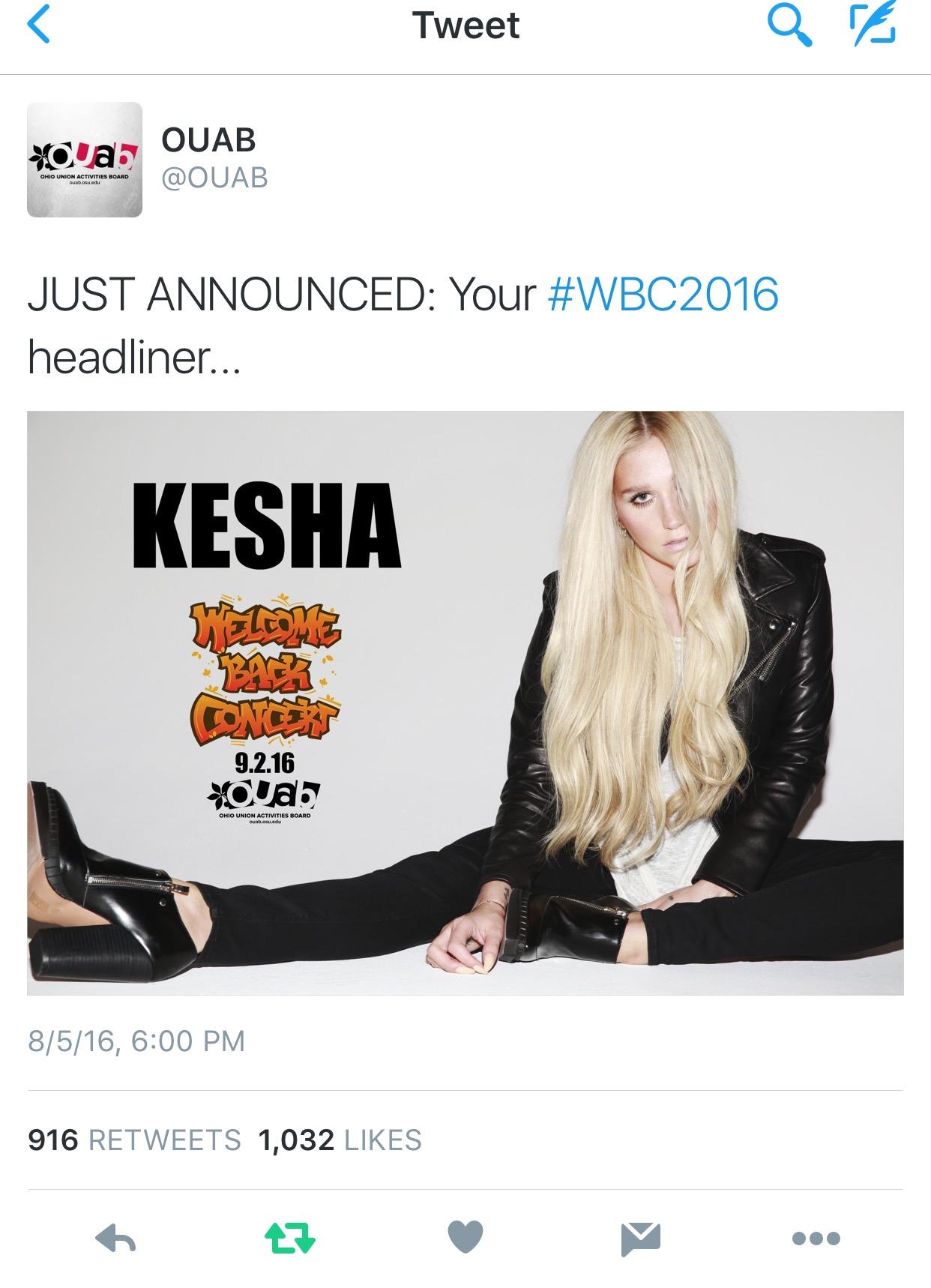 kesha wbc