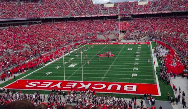 The Horseshoe was named the best stadium in the Big 10