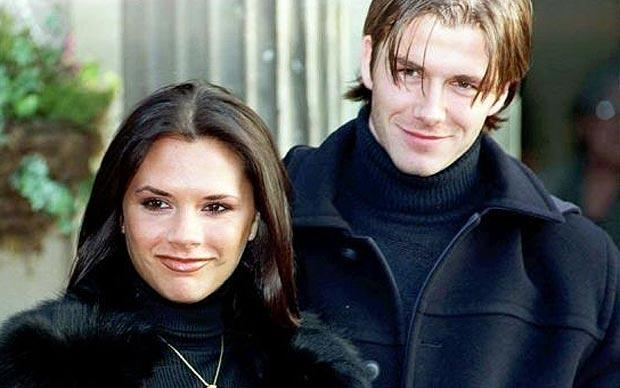 Posh and Becks have changed a lot since the mid 90s