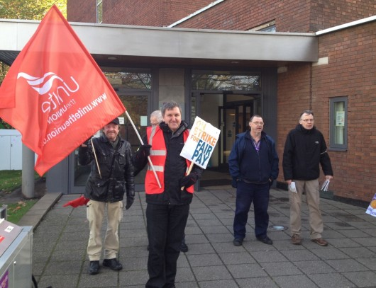One of the smaller pickets