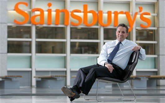 Sainsburys boss Justin King - clearly he does care about students