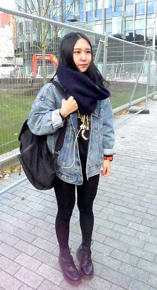 Mo, Postgrad Human Resource Management. Mo likes vintage fashion and shops mainly at Urban Outfitters.