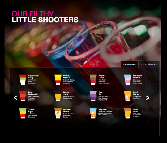 """The famous """"shooters"""""""