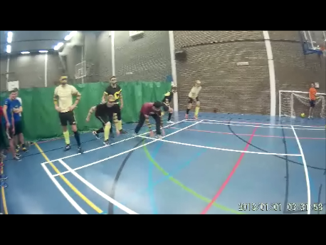Playing dodgeball before it all went wrong