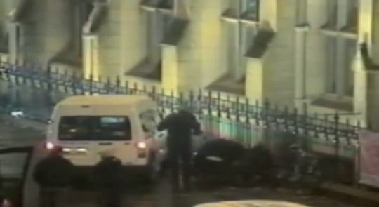 Uni security capture the armed criminal