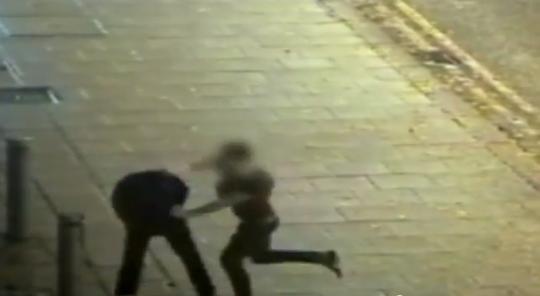 Legend: student swings for armed gunman