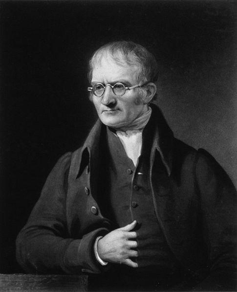 Manc legend John Dalton - those glasses are awesome