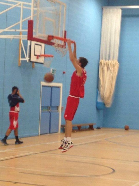 Will has played for a number of basketball teams in England