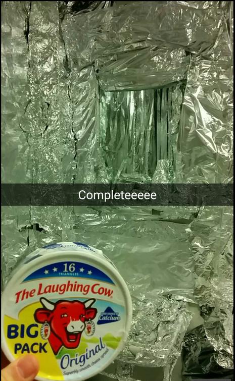 (It's actually aluminium not tin)