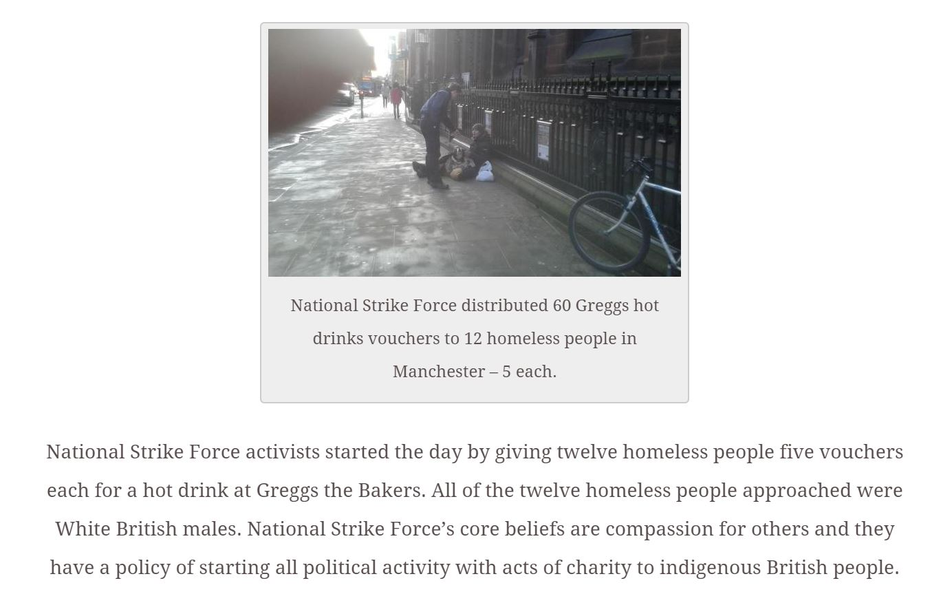 "Controversial: National Strike Force's ""Charity"" Voucher Distribution"