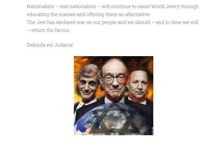 "Renshaw: ""Delenda est Judaica!"""
