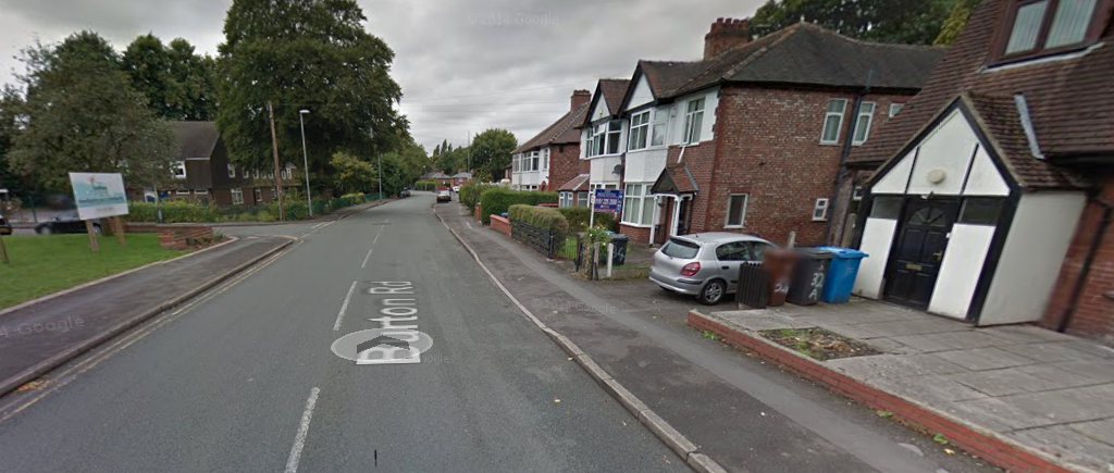 Burton Road in Withington